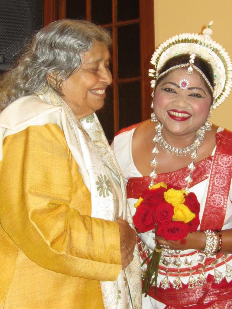 Sri Karunamayee with Guru Jyoti Rout, Silver Anniversary Concert, 10-26-14